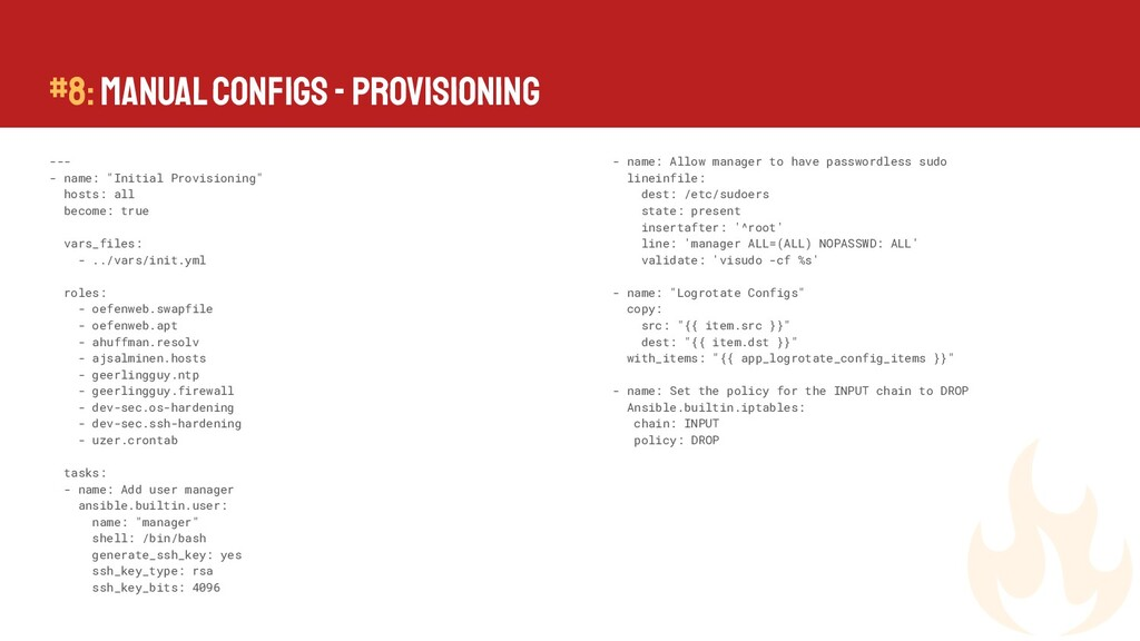 """--- - name: """"Initial Provisioning"""" hosts: all b..."""