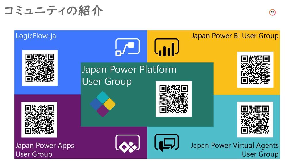 19 コミュニティの紹介 Japan Power Apps User Group LogicF...
