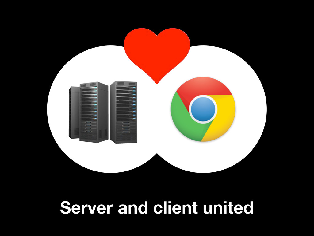 Server and client united
