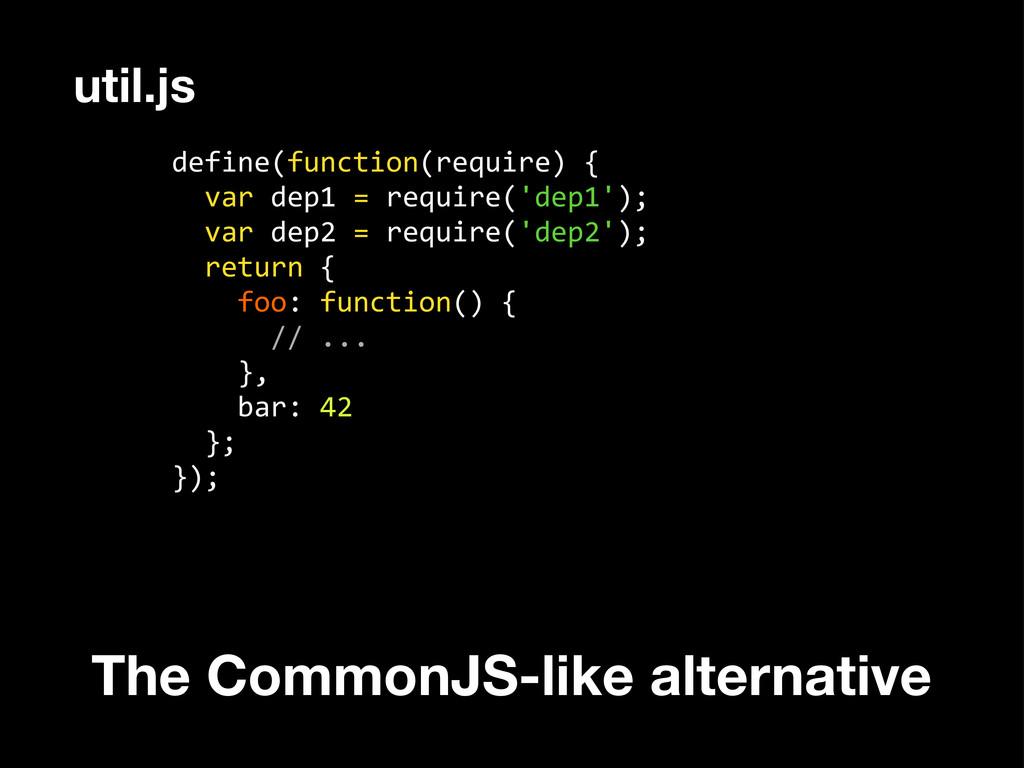 define(function(require) {   var de...