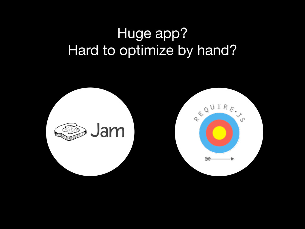 Huge app? Hard to optimize by hand?