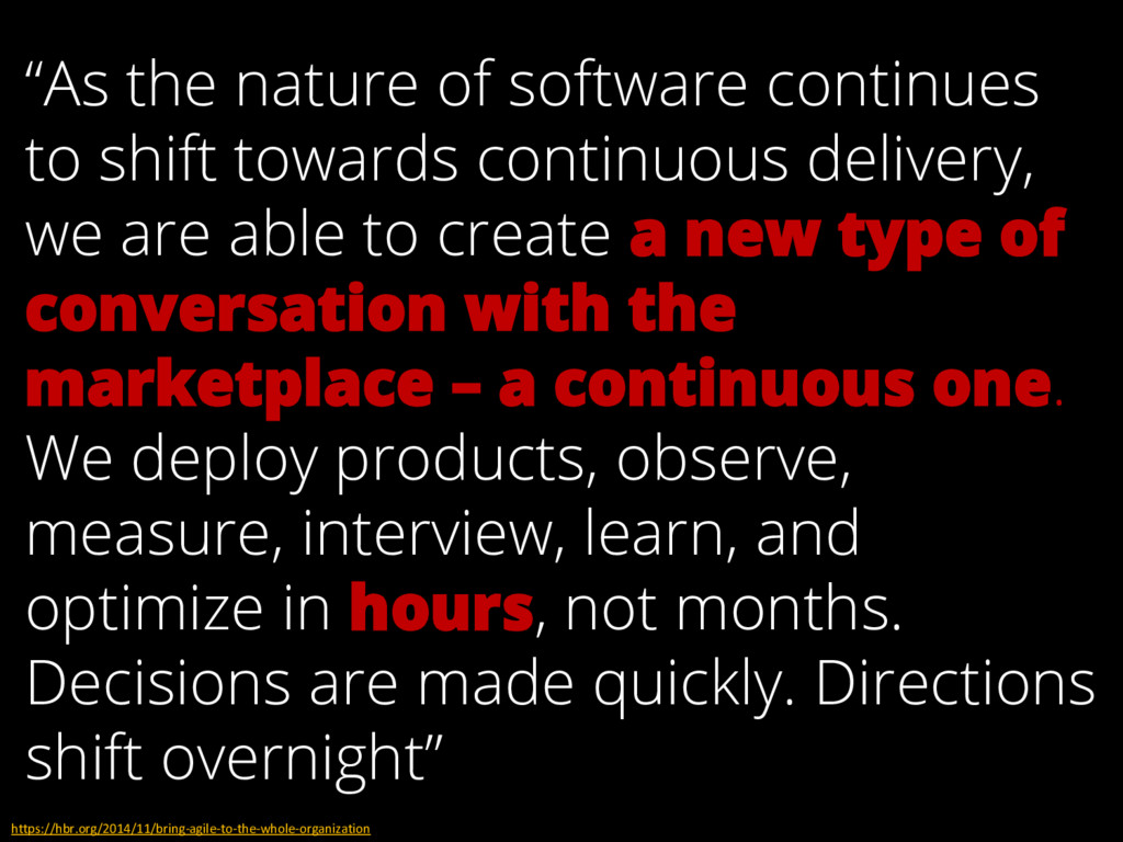 """""""As the nature of software continues to shift t..."""