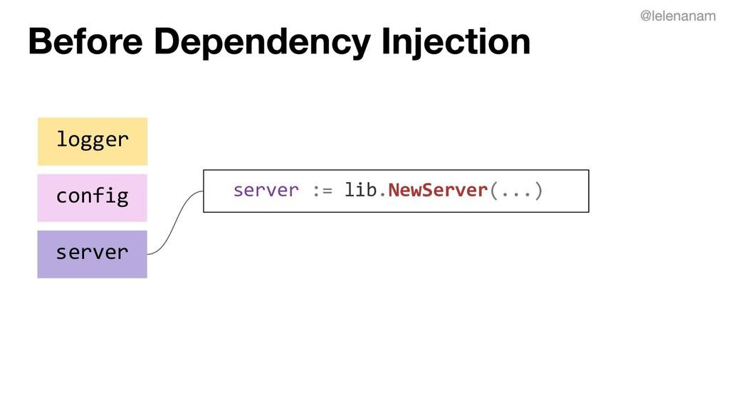logger config server server := lib.NewServer(.....