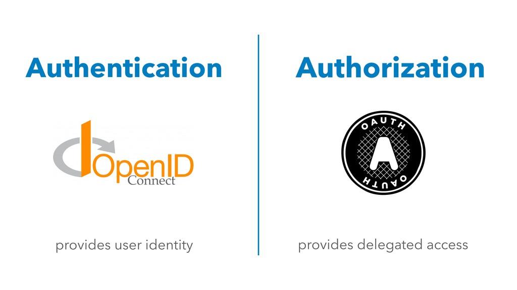 Authentication Authorization provides user iden...