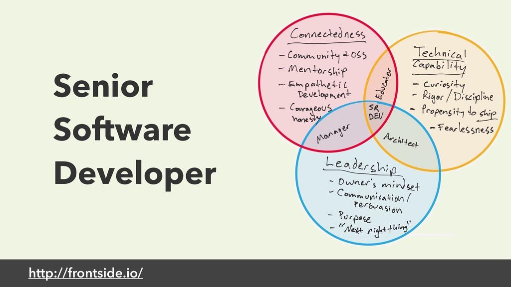 http://frontside.io/ Senior Software Developer
