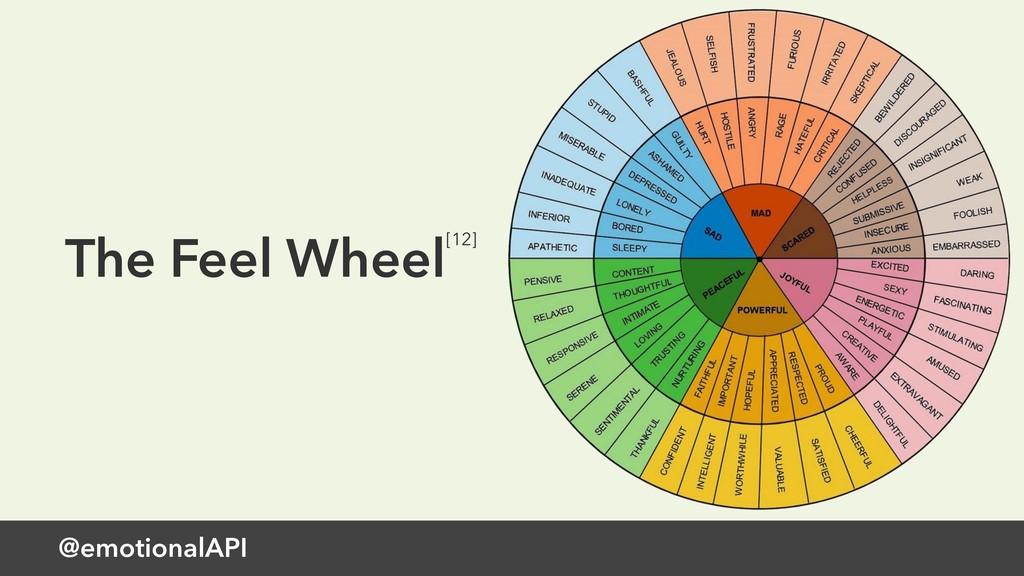 @emotionalAPI The Feel Wheel[12]