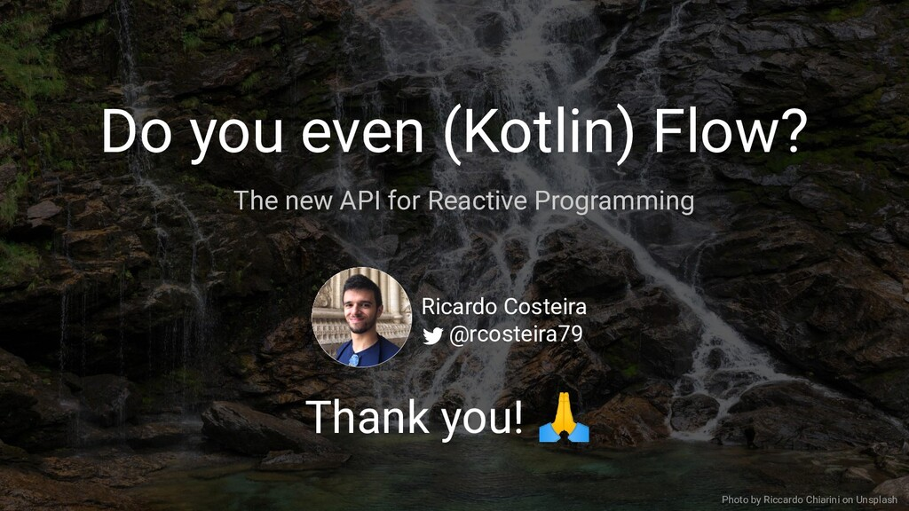 Do you even (Kotlin) Flow? The new API for Reac...