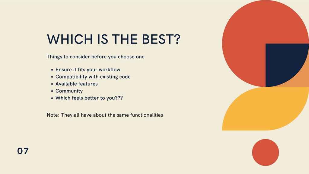 WHICH IS THE BEST? Things to consider before yo...