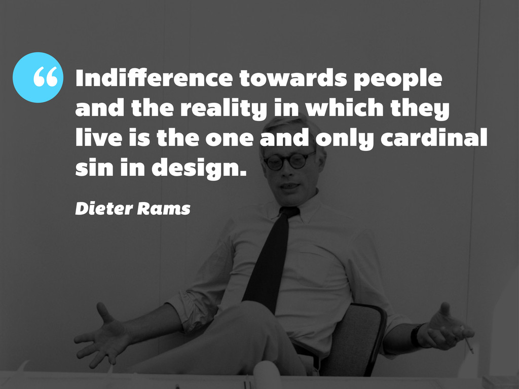""""""" Indifference towards people and the reality in..."""