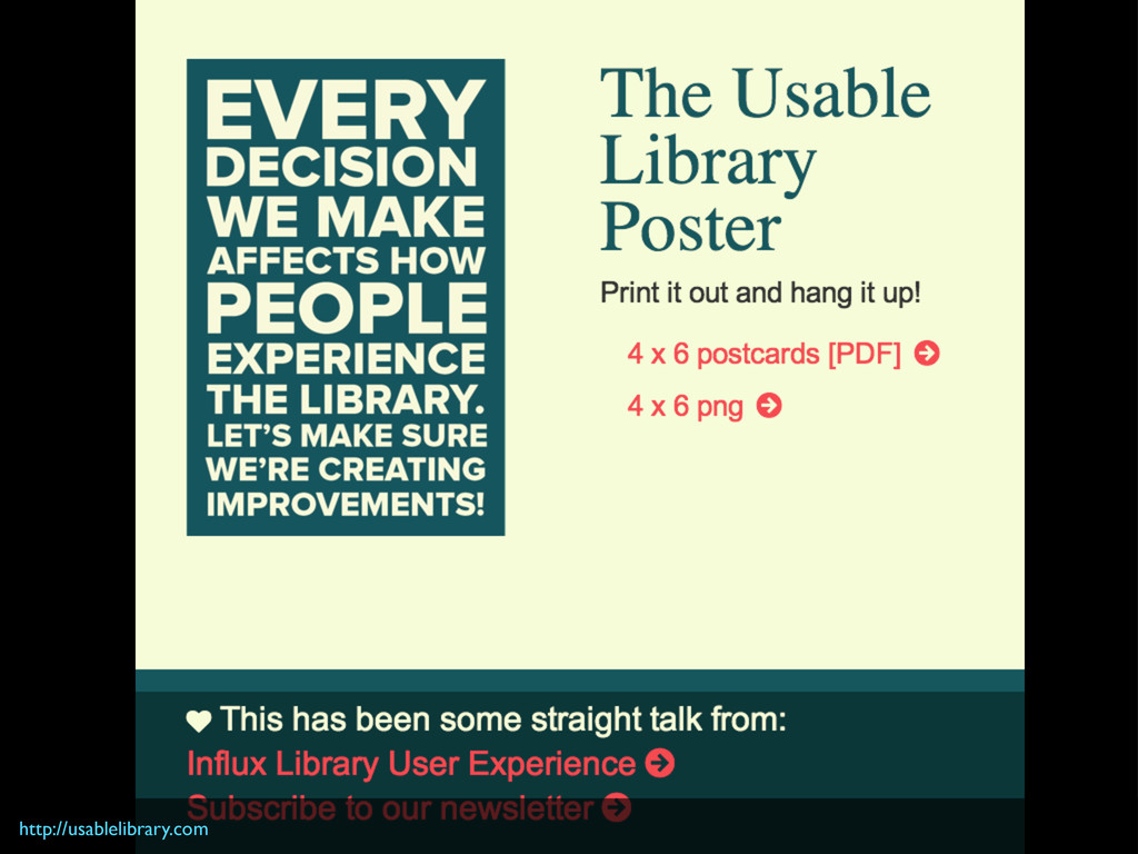 http://usablelibrary.com
