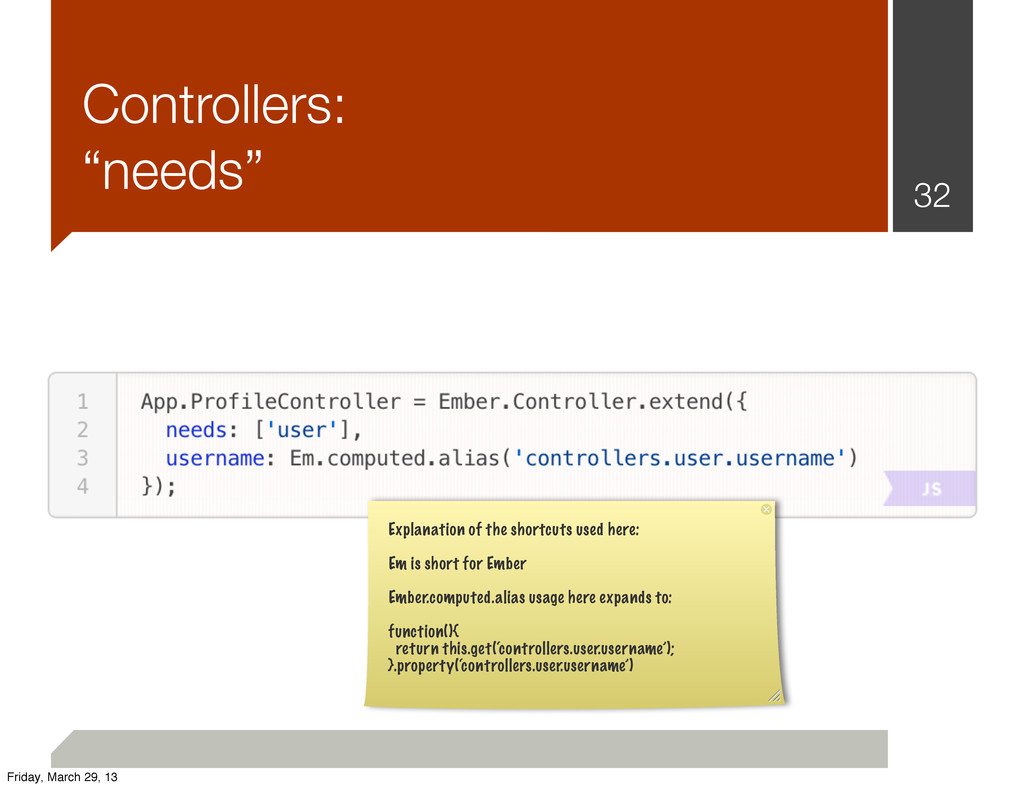 "Controllers: ""needs"" 32 Explanation of the shor..."
