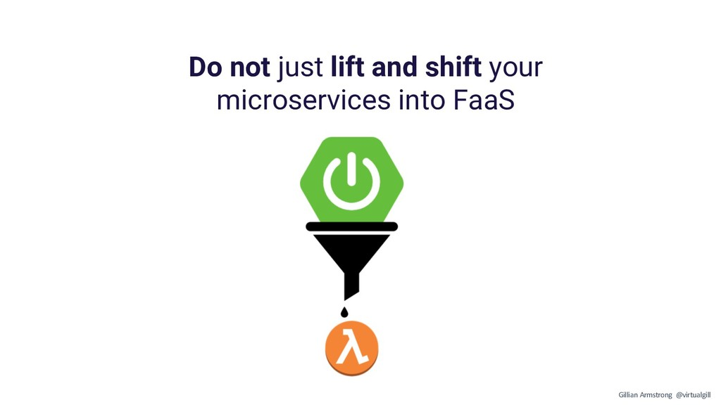 Do not just lift and shift your microservices i...