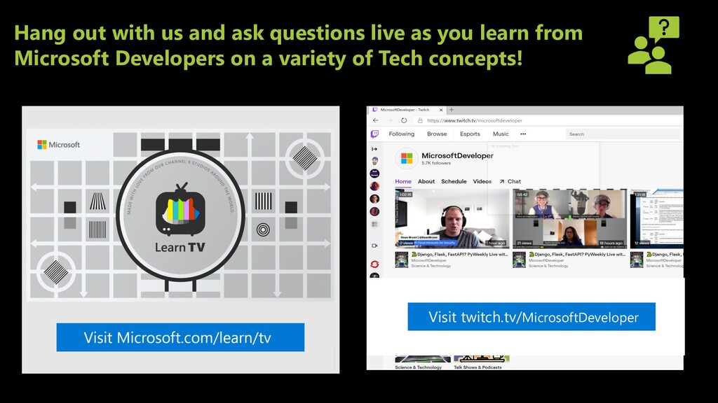 Hang out with us and ask questions live as you ...