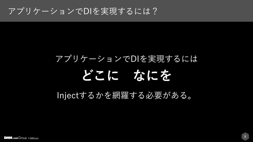 X © DMM.com ΞϓϦέʔγϣϯͰ%*Λ࣮ݱ͢Δʹʁ ΞϓϦέʔγϣϯͰ%*Λ࣮ݱ͢...