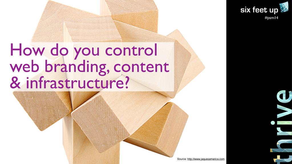 #psm14 How do you control  web branding, cont...
