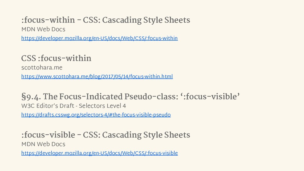 :focus-within - CSS: Cascading Style Sheets MDN...