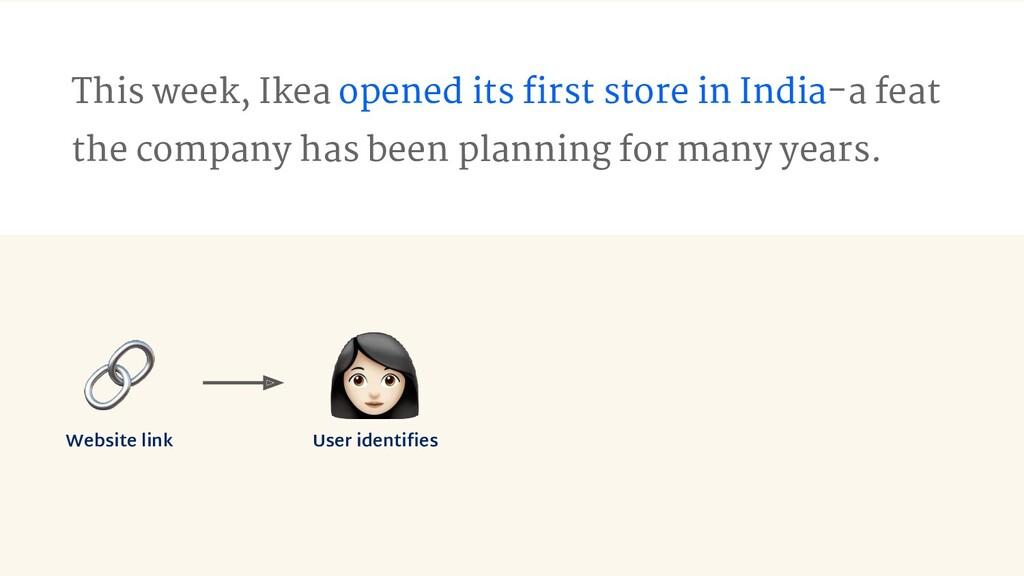Website link User identifies This week, Ikea ope...