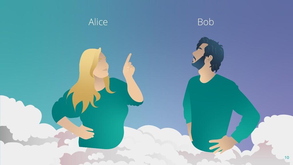 Les mésaventures d'Alice et Bob au pays du clou...