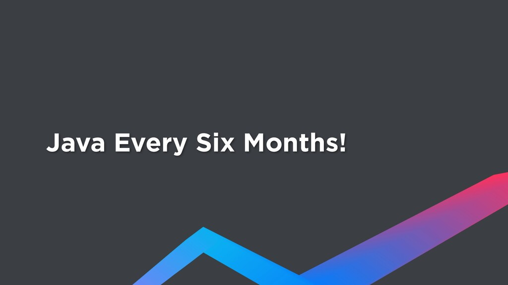 Java Every Six Months!
