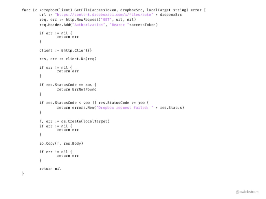 func (c *dropboxClient) GetFile(accessToken, dr...