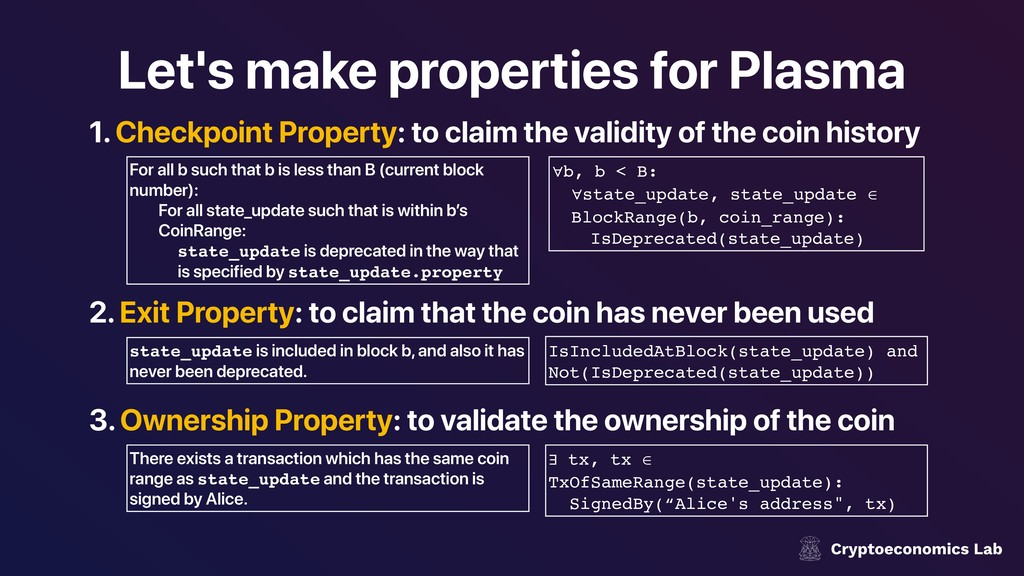 Let's make properties for Plasma 1. Checkpoint ...