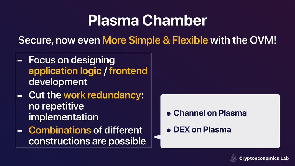 Plasma Chamber - Focus on designing application...