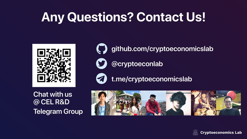 Any Questions? Contact Us! Chat with us @ CEL R...