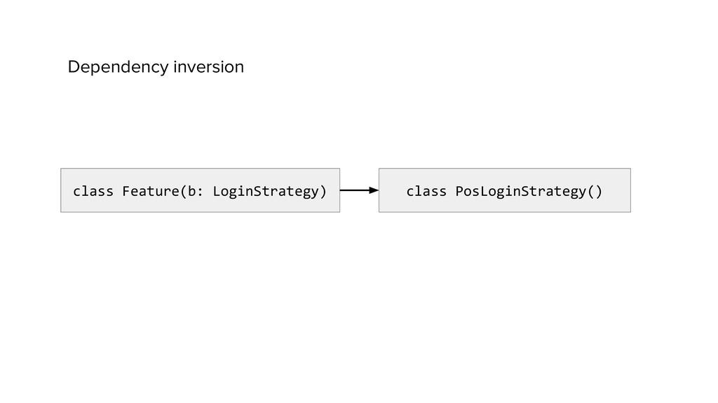 class Feature(b: LoginStrategy) class PosLoginS...