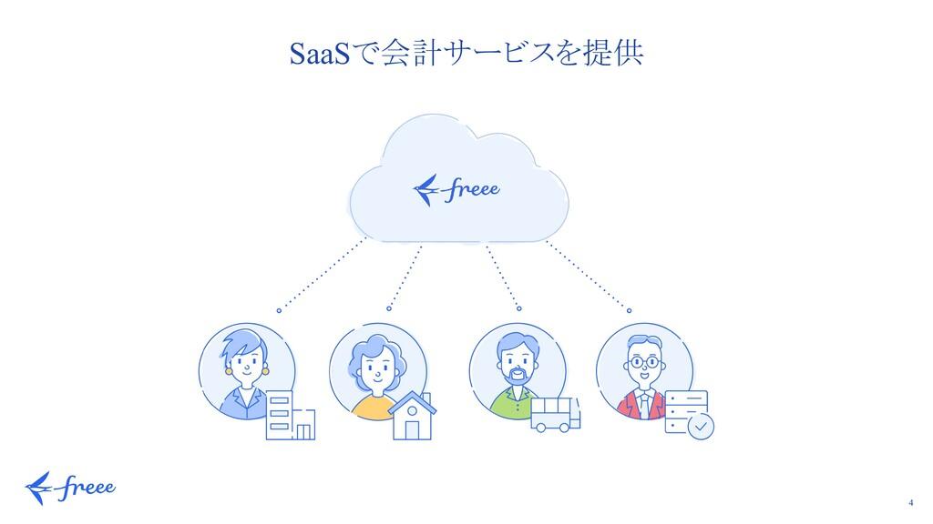 4 SaaSで会計サービスを提供