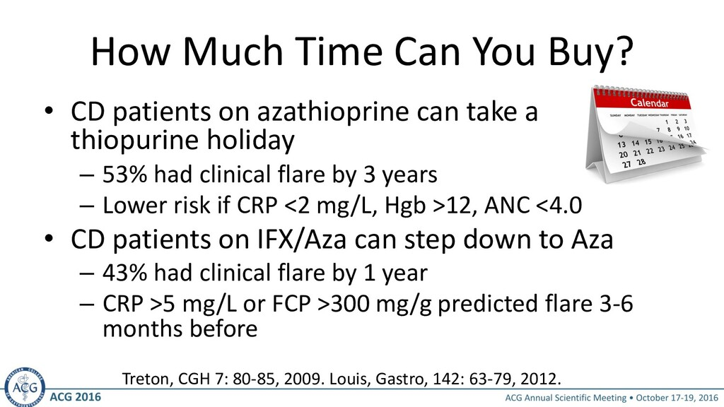 How Much Time Can You Buy? • CD patients on aza...