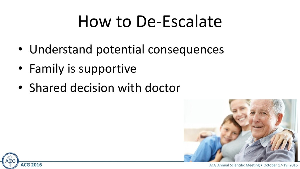 How to De-Escalate • Understand potential conse...