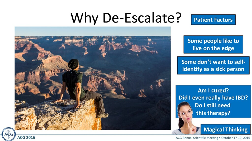Why De-Escalate? Some people like to live on th...