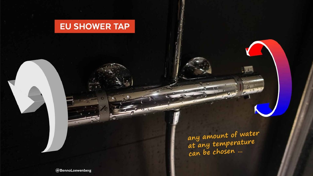 EU SHOWER TAP  @BennoLoewenberg any amount of...