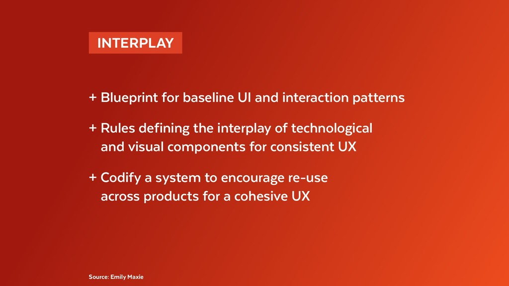 INTERPLAY  + Blueprint for baseline UI and int...