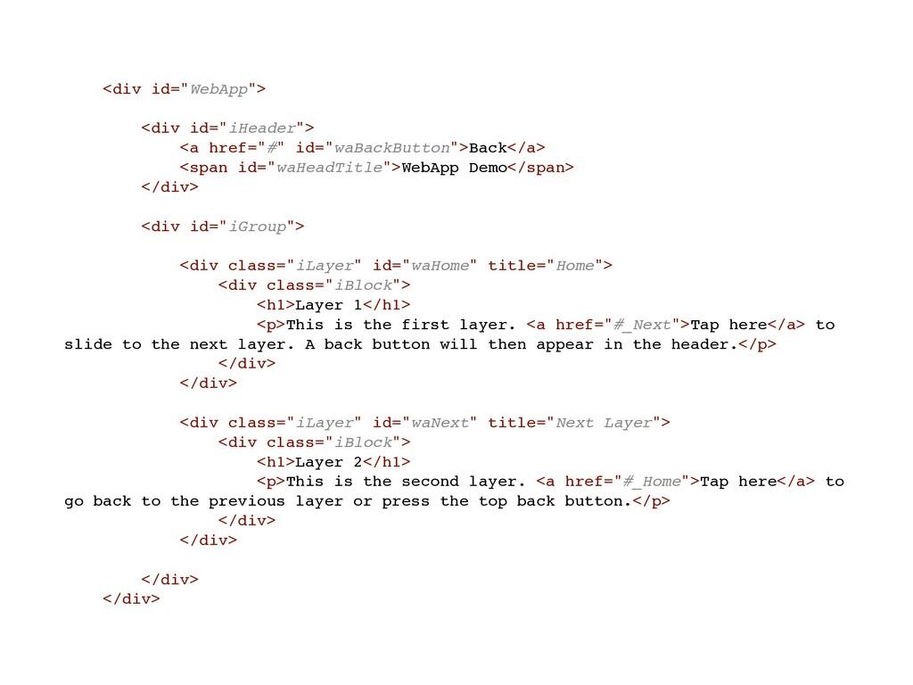 "<div id=""WebApp""> <div id=""iHeader""> <a href=""#..."