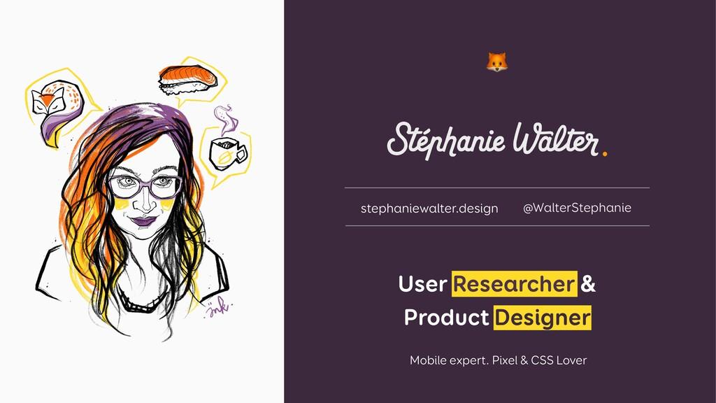 User Researcher & Product Designer    Mobile e...