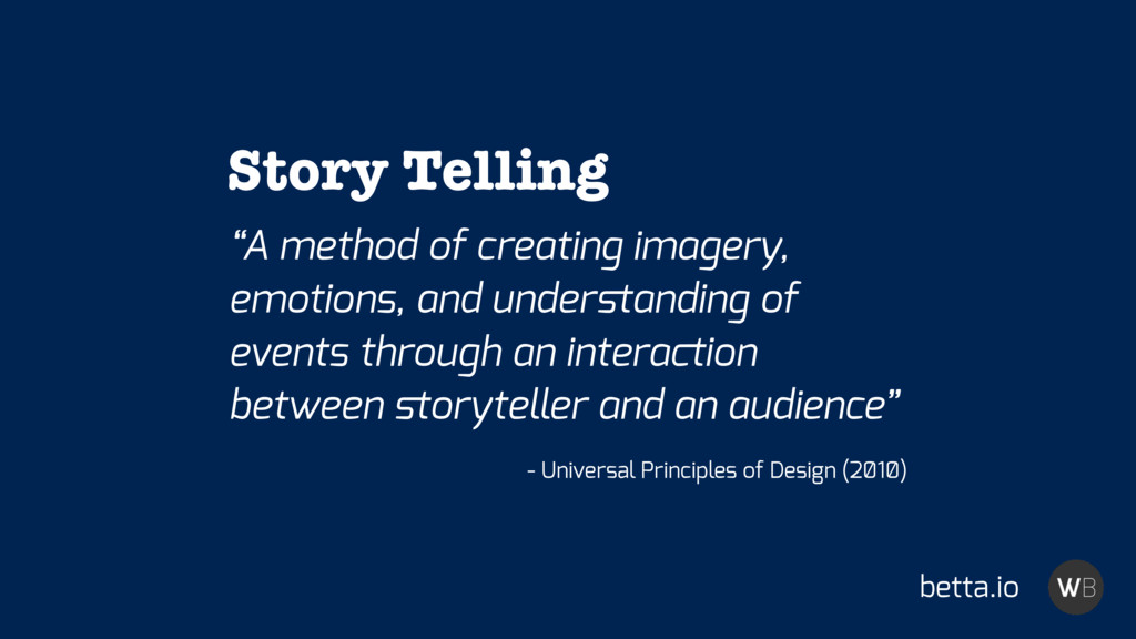 """""""A method of creating imagery, emotions, and un..."""
