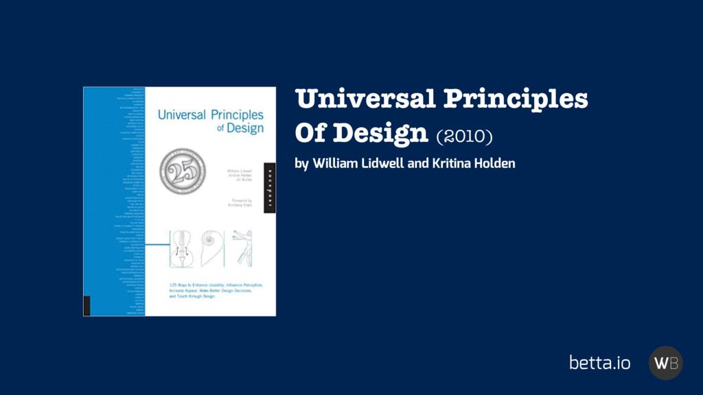 betta.io Universal Principles Of Design (2010) ...