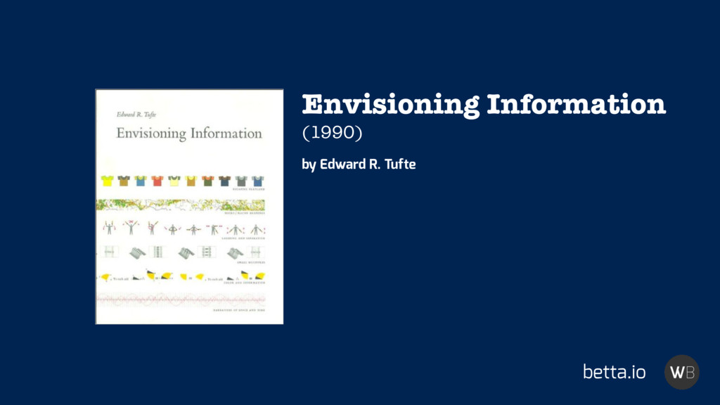 betta.io Envisioning Information (1990) by Edwa...