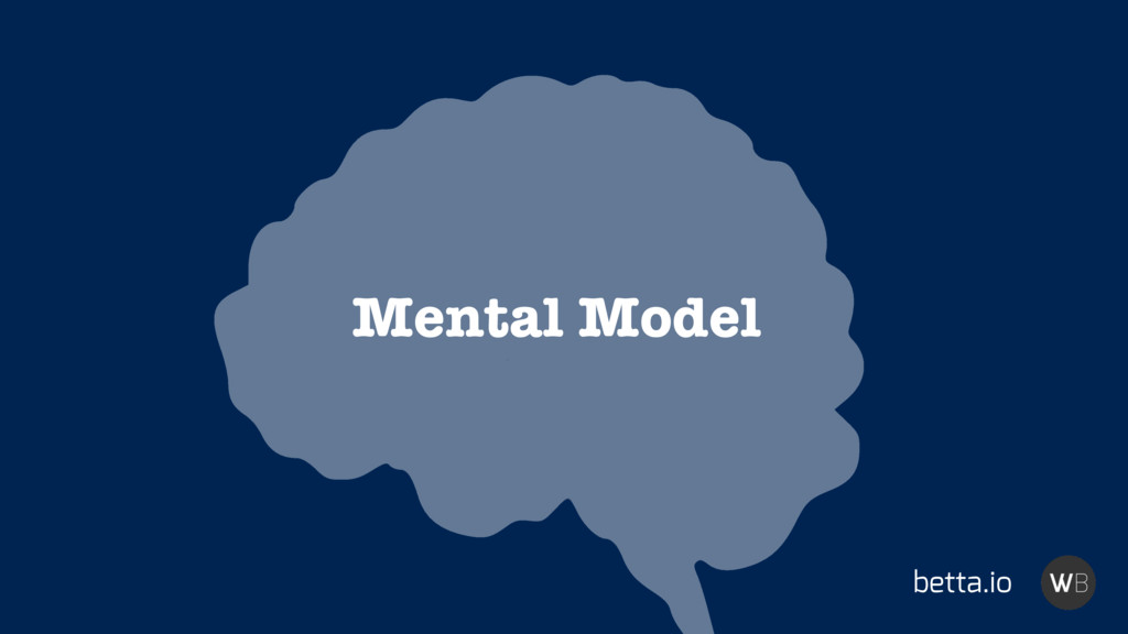 Mental Model betta.io