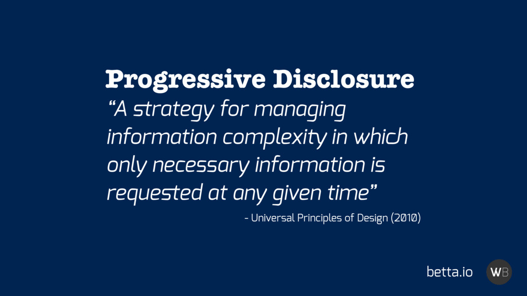 """A strategy for managing information complexity ..."