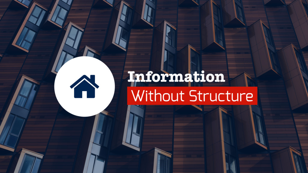 Information Without Structure