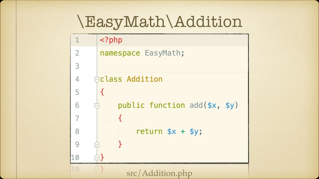 \EasyMath\Addition src/Addition.php