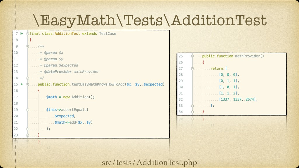 \EasyMath\Tests\AdditionTest src/tests/Addition...