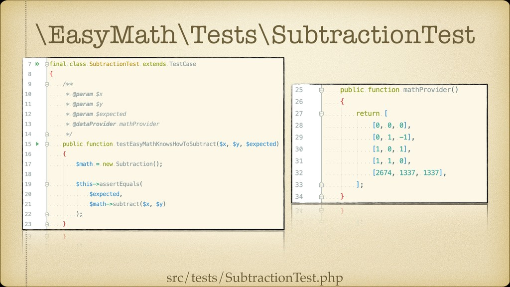 \EasyMath\Tests\SubtractionTest src/tests/Subtr...