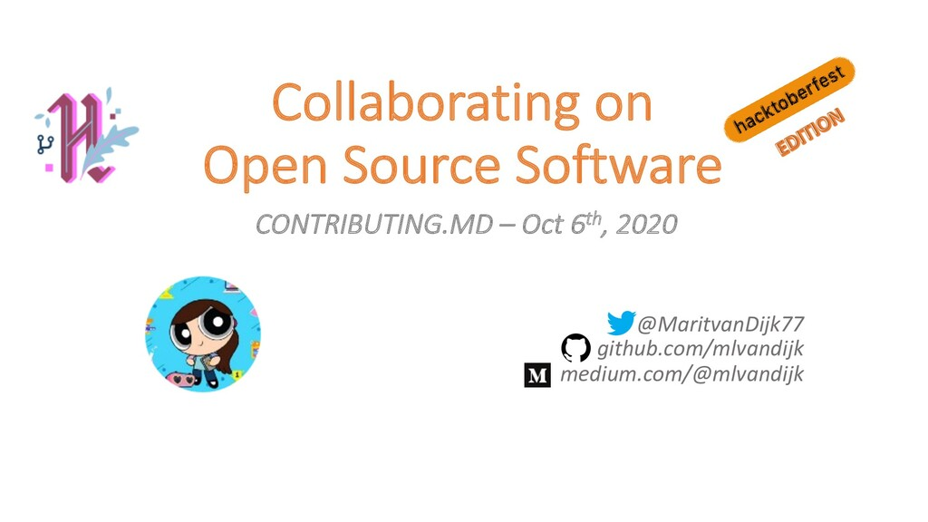 Collaborating on Open Source Software CONTRIBUT...