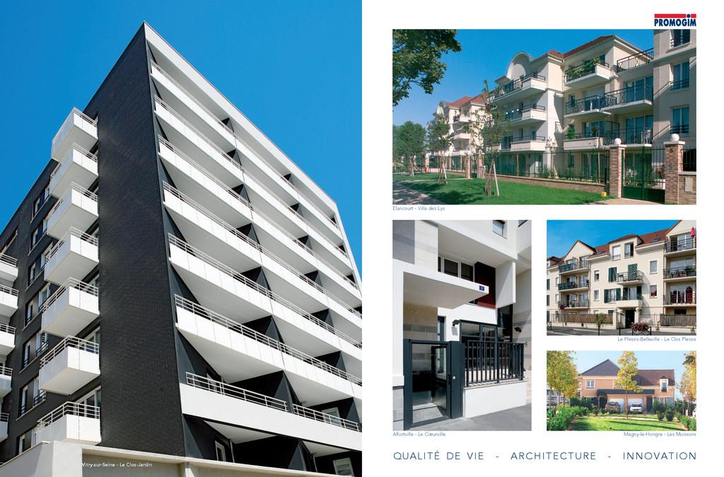 QUALITé DE vIE - ARCHITECTURE - INNOvATION Elan...