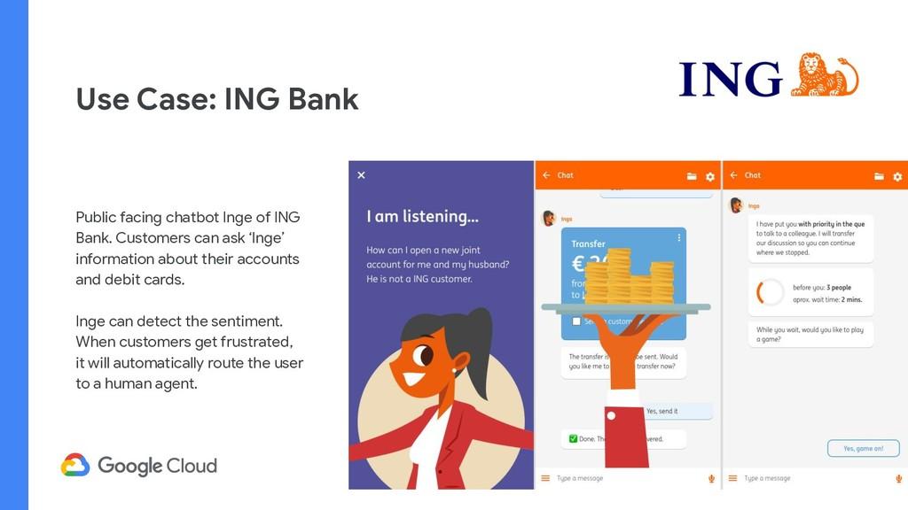 Use Case: ING Bank Public facing chatbot Inge o...