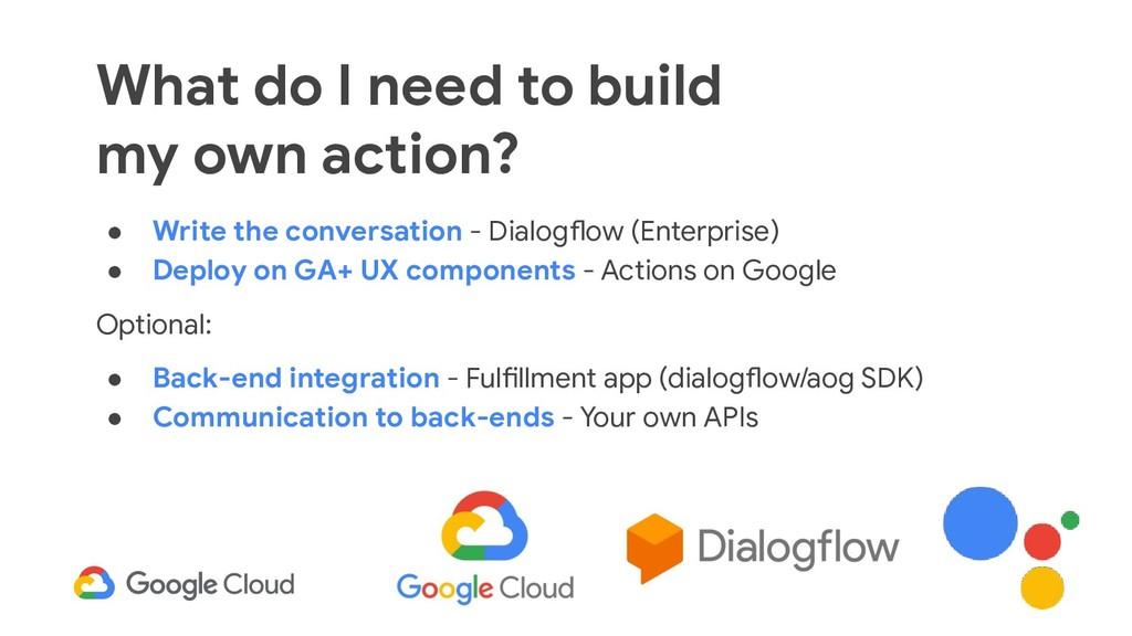 40 ● Write the conversation - Dialogflow (Enter...