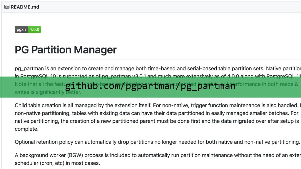 Scaling Postgres for Time Series Data with Citu...